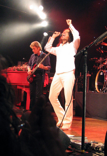 Steve Augeri and Ross Valory / Journey