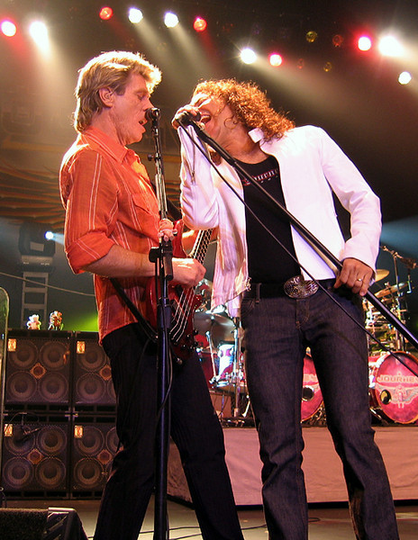 Ross Valory and Steve Augeri of Journey