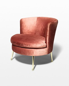 Anita Velvet Side Chair