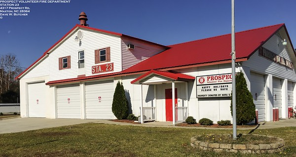 PROSPECT VOLUNTEER FIRE DEPT