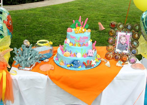 Maddie's 2nd Nemo Birthday party