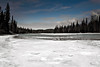 River Ice Walking