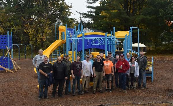 20161022  Playground Installation