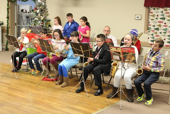 20161126  Pollard School Band at Festival of Trees