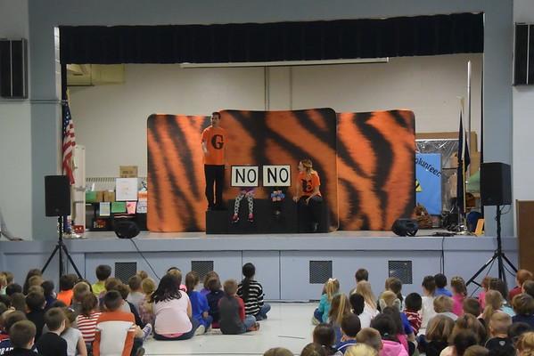 20161116  PSU TIGER Anti-Bullying Assembly at Pollard