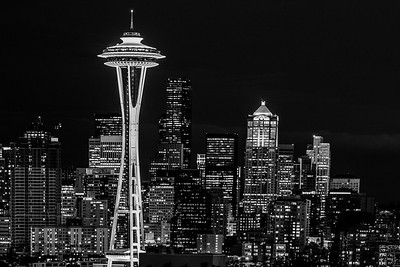 Seattle Space Needle - Honorable Mention