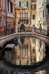 Reflections of Venice - PSA Score 14 Award of Merit