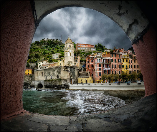 Cinque Terre Italy - PSA Score 11 Honorable Mention