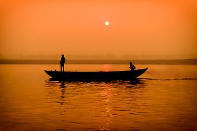Sunrise In Varanasi  - PSA Score 13 - Honorable Mention
