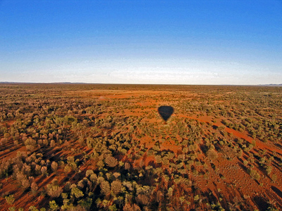 Jean Peterson – Ballooning Over the Outback