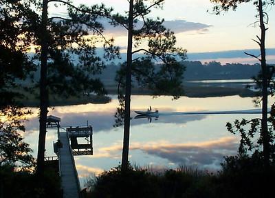 David Keener - Shallotte River Dawn