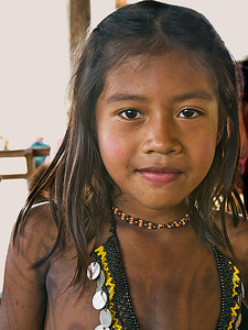 Jerry Koons - Embera Indian Girl