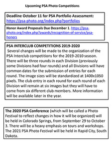 October 2017 PSA Washington State Member Newsletter