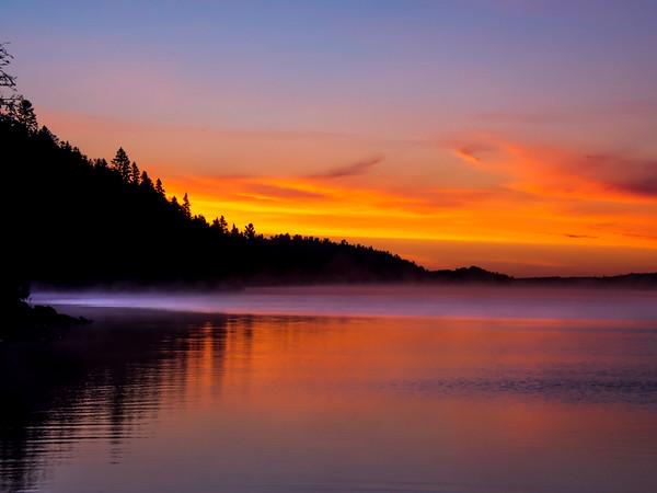 Lac Seul Sunrise-Dave Warren PSA Score 9