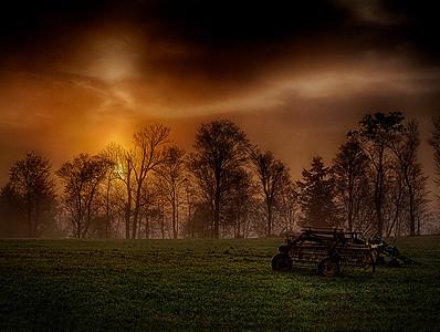 6.  Foggy Sunrise