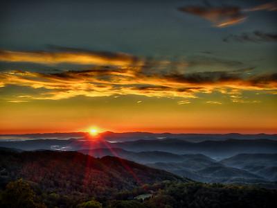 5 Blowing Rock Sunrise