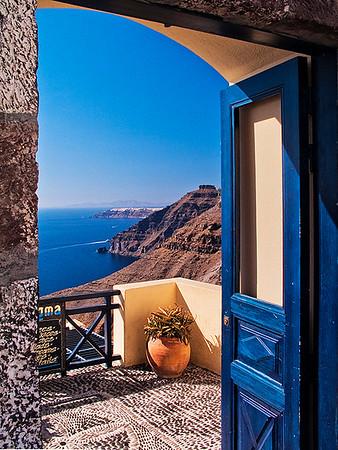 Santorini Doorway by Gary Emord - Score 12