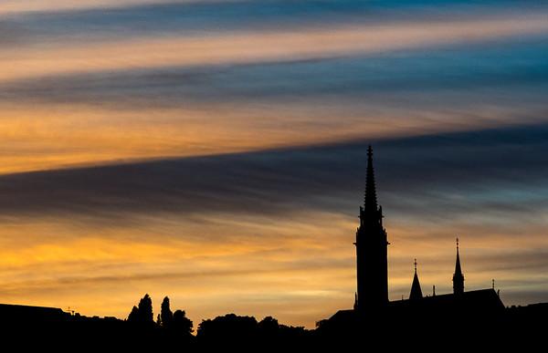 3Budapest Sunset