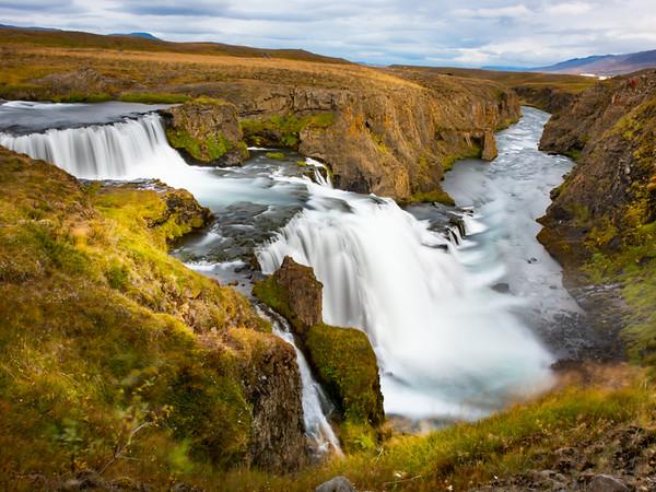 Reykjafoss Iceland-Dave Warren PSA Score 12