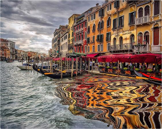 Venice Reflections-Anastasia Tompkins PSA Score 13