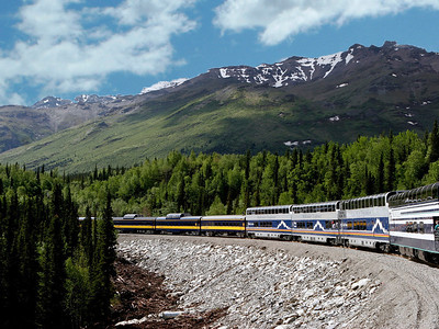 Mark Weiss - Train to Mt. McKinley, Alaska