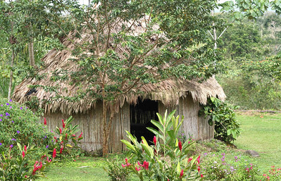 Michelle Tinger - Indigenous Maleku Hut, Costa Rica