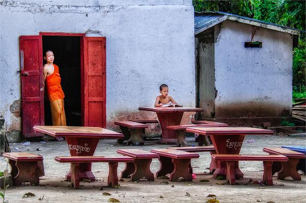 5. Classroom in Laos - PSA Score 10