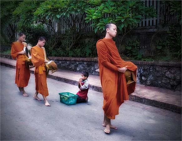 Monks of Laos - Anastasia Tompkins - PSA Score 11
