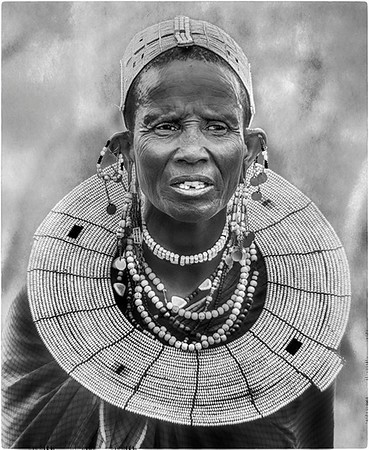 Massai Elder Tanzania - Anastasia Tompkins - PSA Score 10