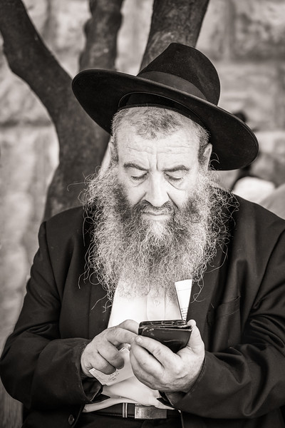 The Rabbi - Joan Showers - PSA Score 12 - Honorable Mention