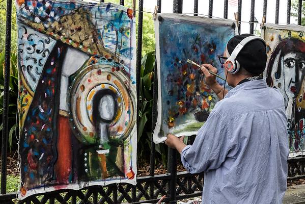 13. Jackson Square Artist