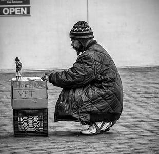 homeless-vet - Irving Freedman