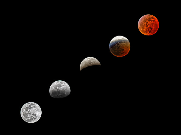 1. Blood Moon Eclipse 2019