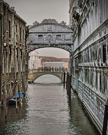 Bridge of Sighs in Venice- Gary Emord PSA Score 6