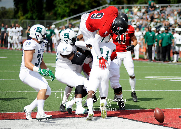 PSAC Football  Cal U v. Slippery Rock