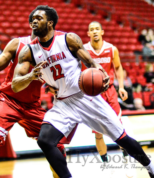 PSAC Men's Basketball  Cal U v Edinboro