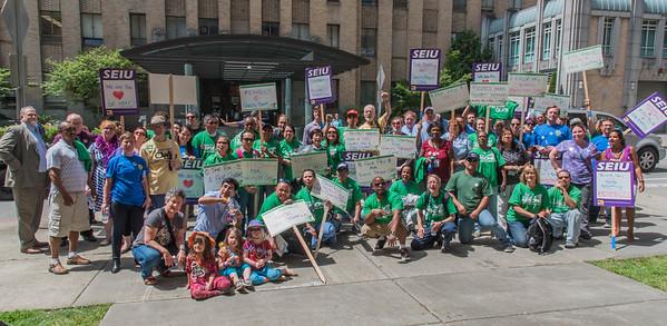 June 7 Rally at Harbor View Hospital