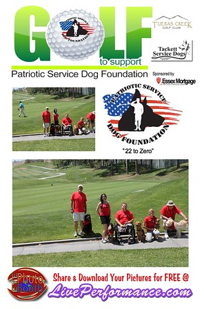 Patriotic Service Dog Foundation Golf Tournament 4-30-15 EYE Photo Booth Photo Cards