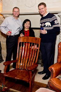 Eric, Christine, Kevin, and the Rocking Chair!