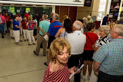 Box Office Line fpr the Patriotic Pops Concert!