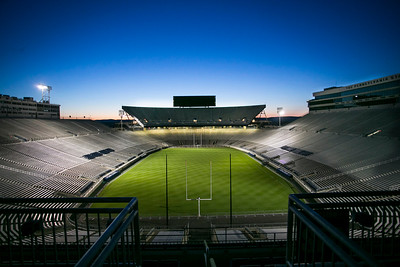 Sleeping Stadium ( from the Mt. Nittany Club at Beaver Stadium)