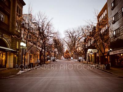 Allen Street December 25 (circa 1990's)