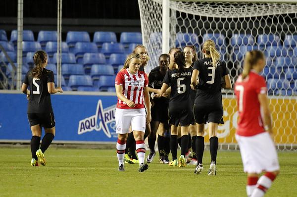 20160923 - Nederland - Eindhoven - PSV Vrouwen - FC Twente Vrouwen -  Kim Mourmans (PSV Vrouwen)