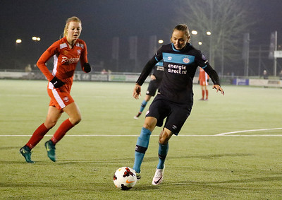 20161216 - Hengelo - FC Twente - PSV Eindhoven - Maruschka Waldus - Nadia Coolen