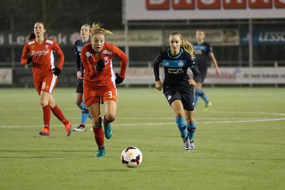 20161216 - Hengelo - FC Twente - PSV Eindhoven - Maruschka Waldus - Kirsten Koopmans