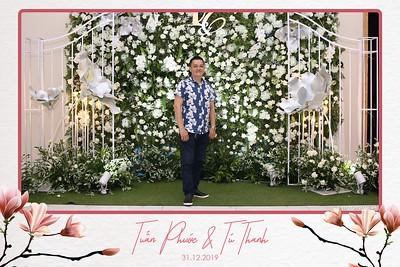 Tuấn Phước & Tú Thanh wedding @ The Adora Center   wedding instant print photo booth in Ho Chi Minh City   Chụp ảnh in hình lấy liền Tiệc cưới