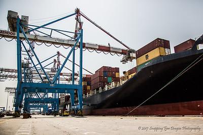 Ashdod Shipping Port, Israel 7-17