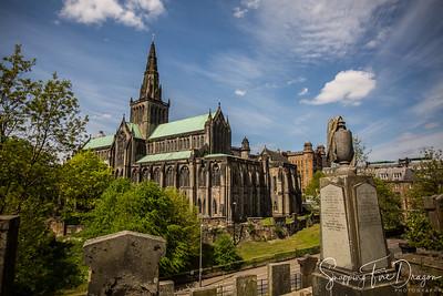 Glasgow Necropolis and Cathedral, Glasgow, Scotland 5-2018