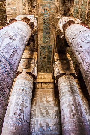 Hathor Temple, Dendera Complex, Qena, Egypt 2016