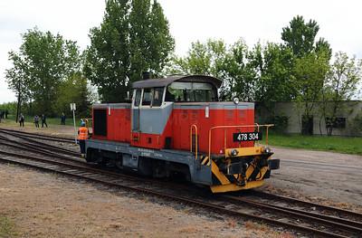 478 304 (98 55 0478 304-6 H-START) at Mezocsat on 29th April 2017 working PTG Railtour (39)
